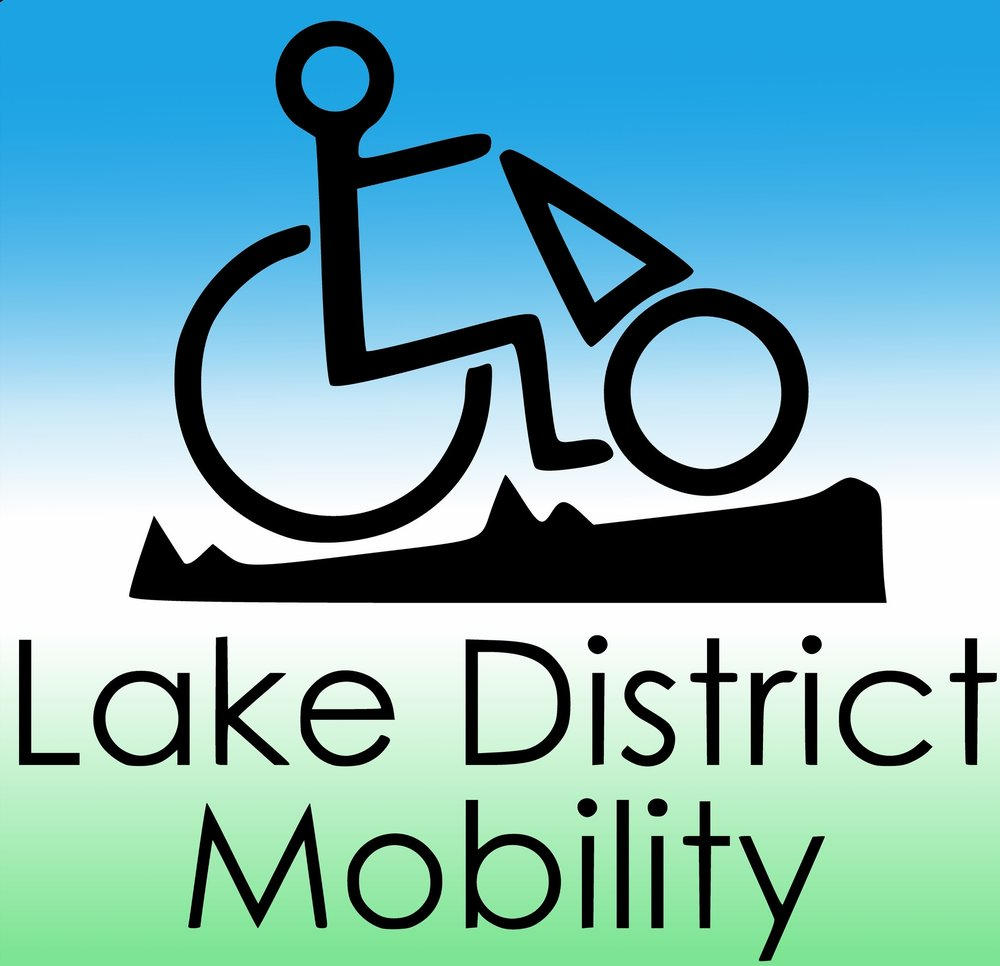 Lake District Mobility Logo with link to donation page