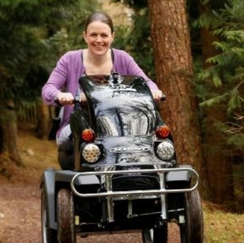 Lake District Mobility founder Julia Walker - Link to jobs page