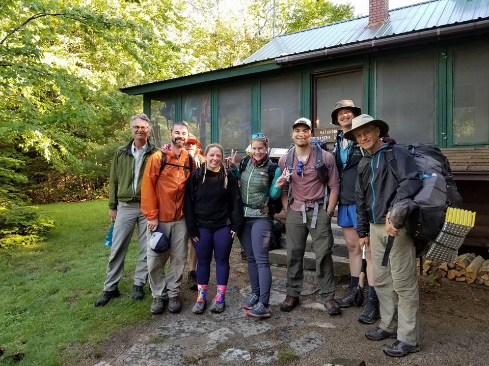 Day 1 at Katahdin Stream Campground, the Ranger Station