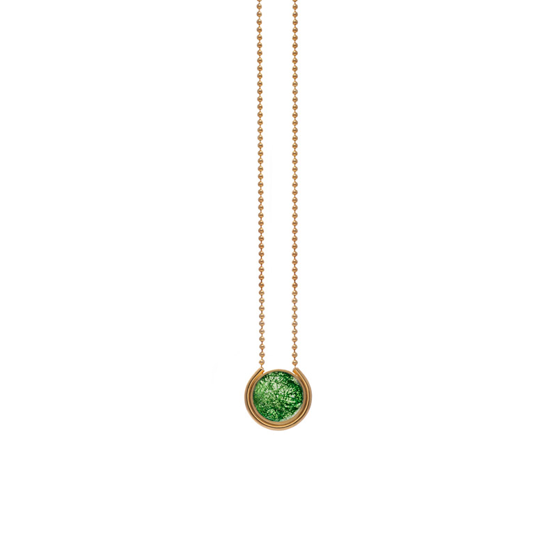 Patricia-Wong-The-Rose-Tint-tinted-mini-pendant-gold-emerald-lace