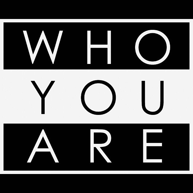 Who are you, requires a response,  WHO YOU ARE...Does Not!  At 4IdentiTees we put HANDS ON 'EM! #teamwork #thereisnoiinteam #we #moveinsilence #justwaitonit #4identitees #whoyouare #youarethebrand #believeinyourself #apparel #tshirts #clothing #themovement #puthandsonem