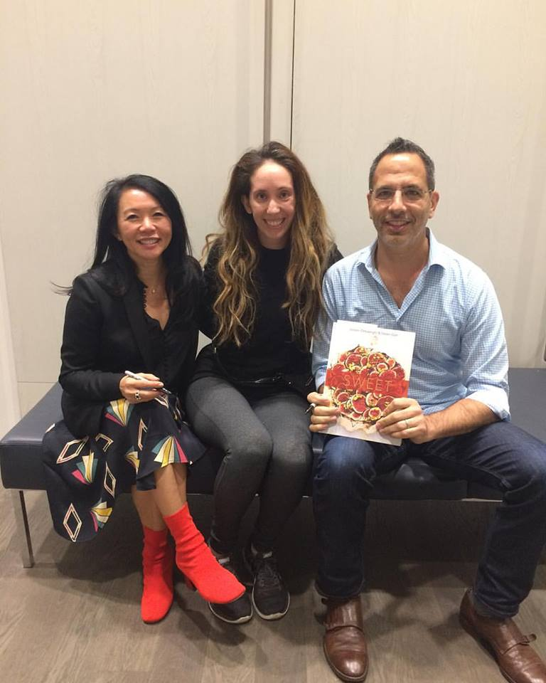 Helen Goh + Yotam Ottolenghi co-authors of SWEET