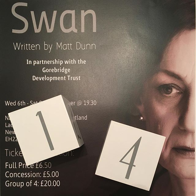 T-14 days until Swan @natminingmuseum get your tickets @ https://3in1theatre.com #AnnieSwan