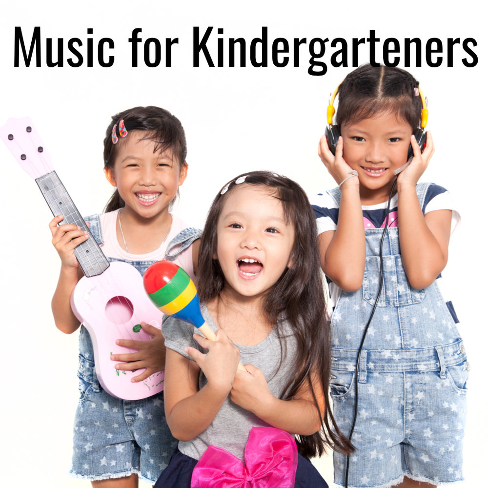 "Music for Kindergarteners    ""I'm bored..."" is the anthem of many kindergarteners. They need music that's complex and challenging to keep up with their fast-moving and ever-learning brains! Alternately, music can help them transition to times of rest and relaxation.  (Learn more...)"