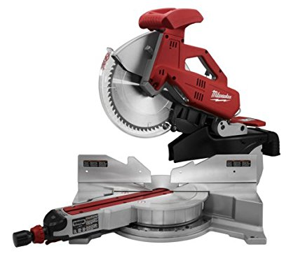 Milwaukee 6955-20 12-Inch Sliding Dual Bevel Miter Saw with Digital Miter Angle Fine Adjust