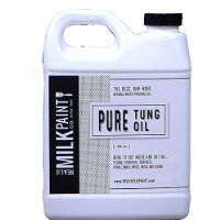 Real Milk Paint Pure Tung Oil - Gallon - Natural Wood Finish