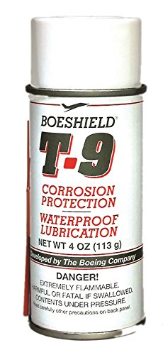 Boeshield T-9 Waterproof Lubrication