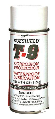 Boeshield T-9 Waterproof Lubrication