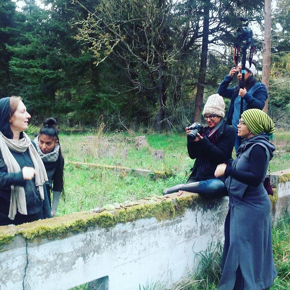 directing the film shoot: secondary succession