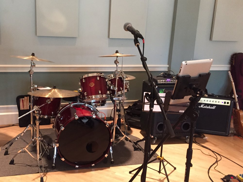 Wedding gig on drums in St. Joseph, MI with the Matt Stedman Band.