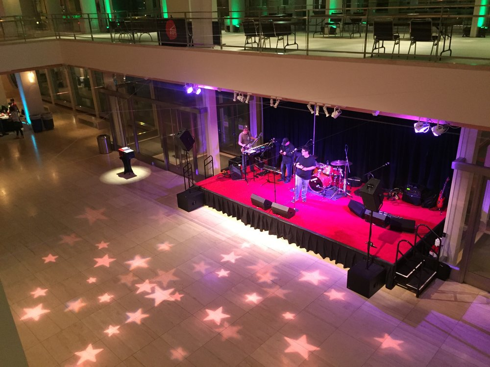 Live Band Karaoke. University of Wisconsin-Madison. Fall 2016. We play this gig every year for the incoming Freshman class. It's a long one at about 4 hours with little breaks in between sets. Always an amazing group of kids that we get to play for.