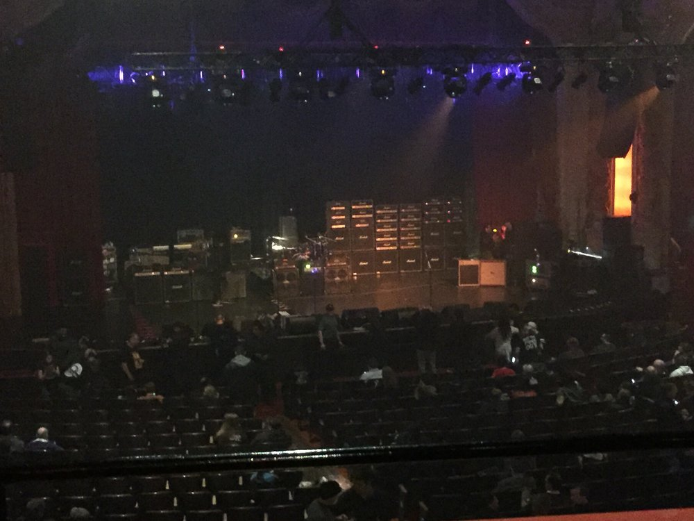Generation Axe Tour, April 2016.