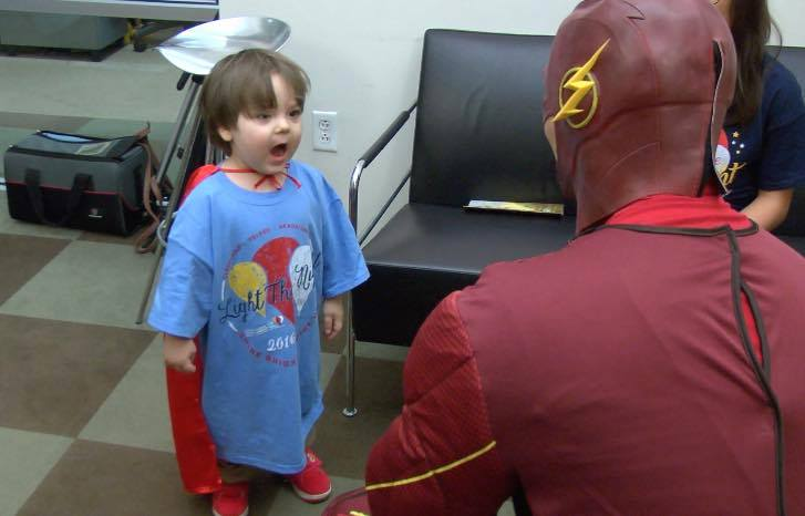 Stanley Meets The Flash!
