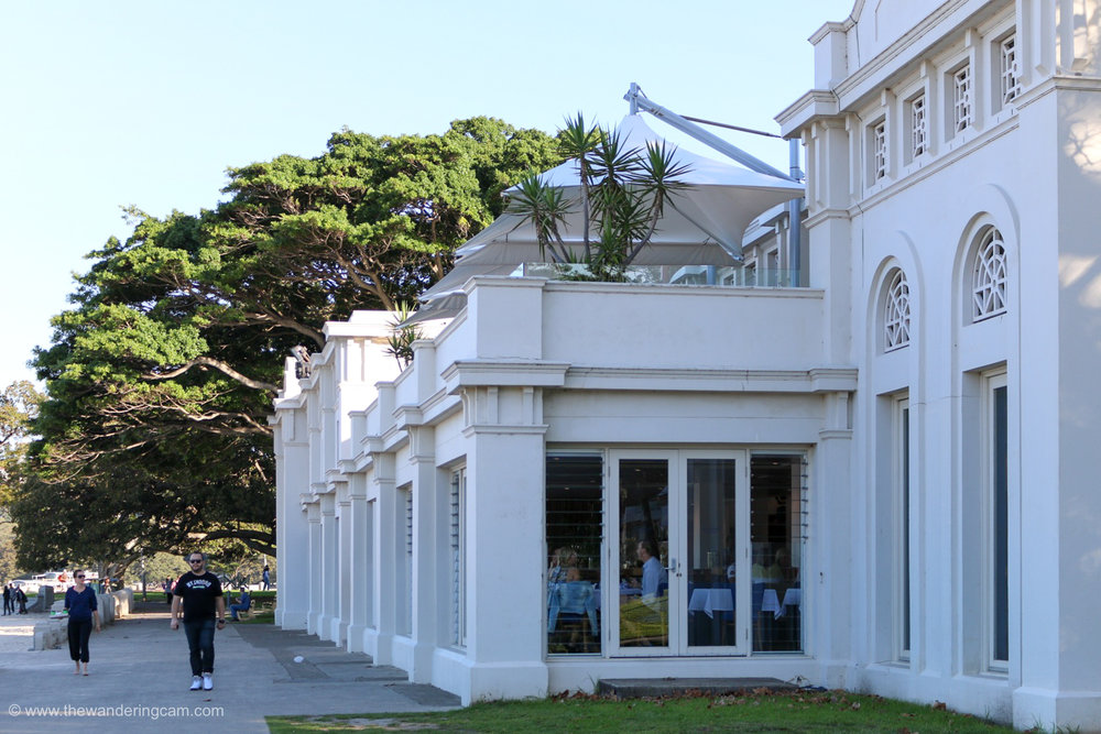 Lunch at the Bathers Pavilion Restaurant