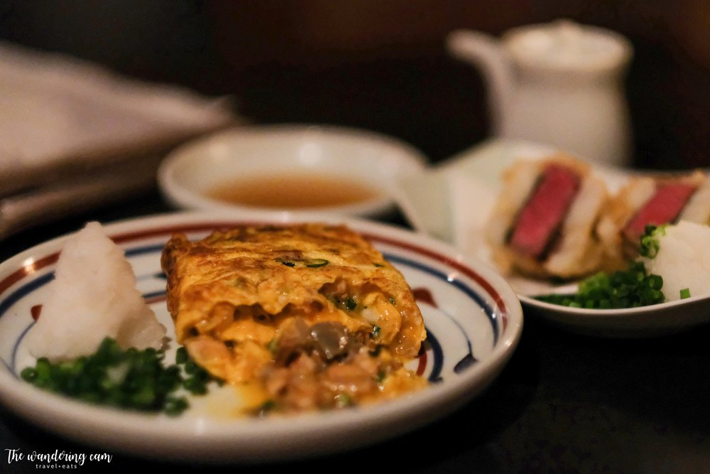 Umaki -  light and fluffy omelette with delicious eel filling