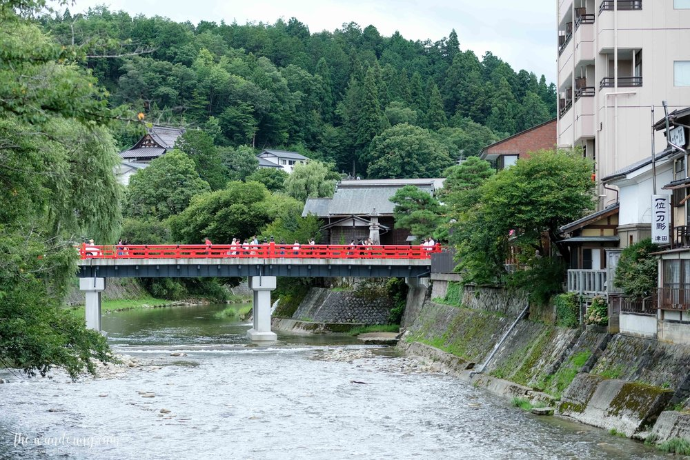 There were a few bridges crossing the Miyagawa River which reminded me of Kyoto.