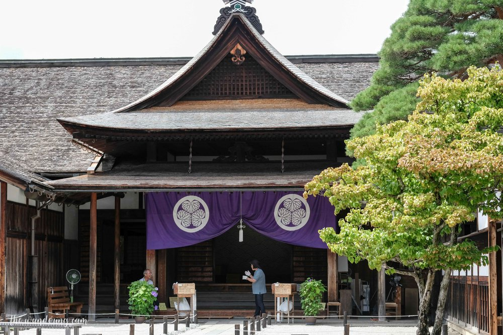 Takayama Jinya - which had a morning market in front