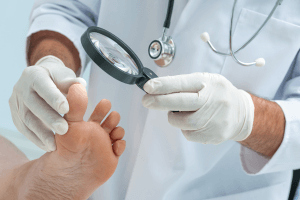 Recommended Yearly Diabetic Foot Exam -