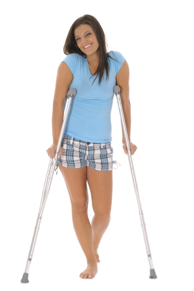 How to use Crutches