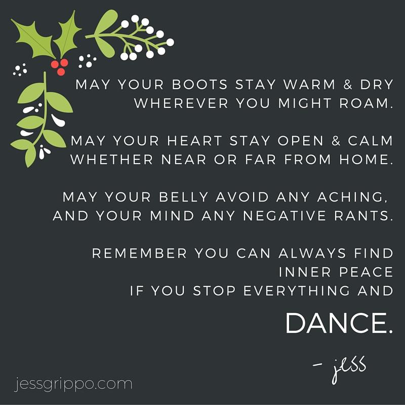 xmas dance poem dance
