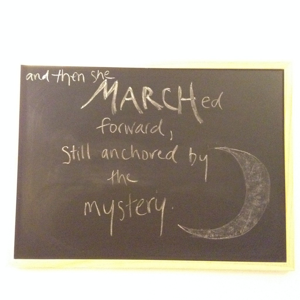 march theme mystery