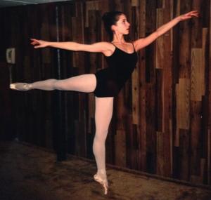 serious ballet dance