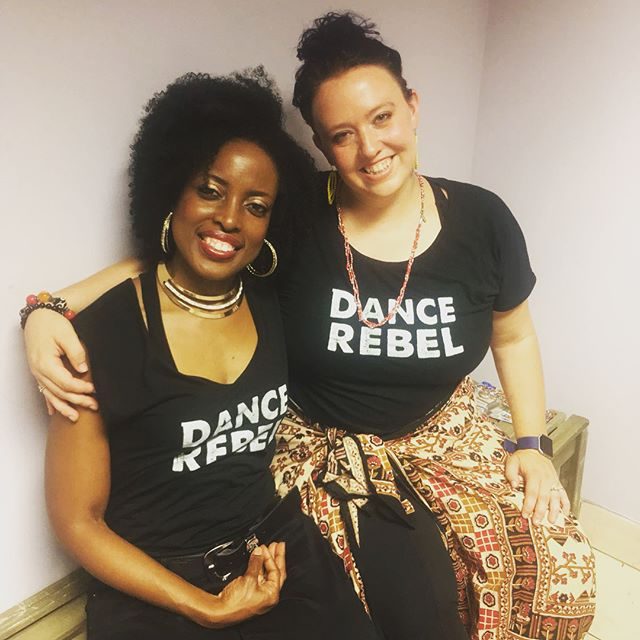 Our #dancerebels @keesh1972 @prefontc and @danadefrancesco had a blast performing @prefontc Cate's choreography at the @connectionarts bash last night. Spreading love through art and dance - so thrilled to be collaborating with such amazing humans and organizations 👏👏👏