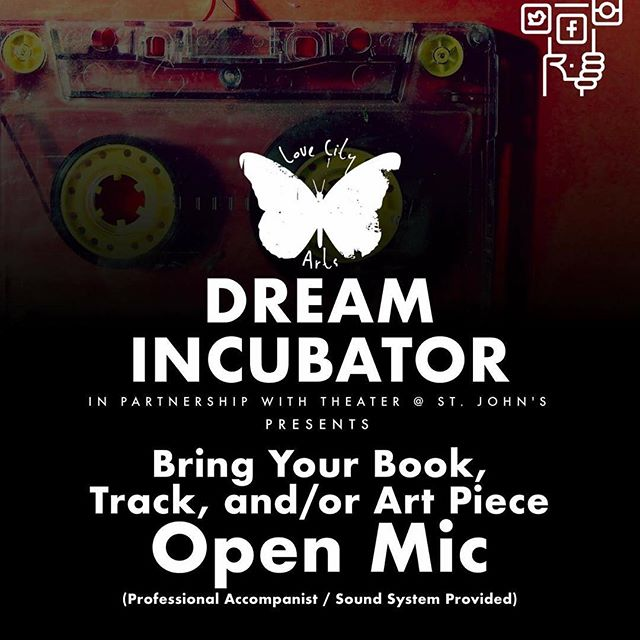 How do I love thee, @lovecityarts ... let me count the ways! 1 big one at the moment is this upcoming open mic in nyc. (Who's joining me?) 2 is their podcast and 3 are the many ways that Andre Stith is making art magic community love come to life. Follow @lovecityarts ❤️💥