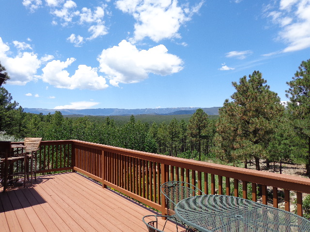 Amazing View from Deck