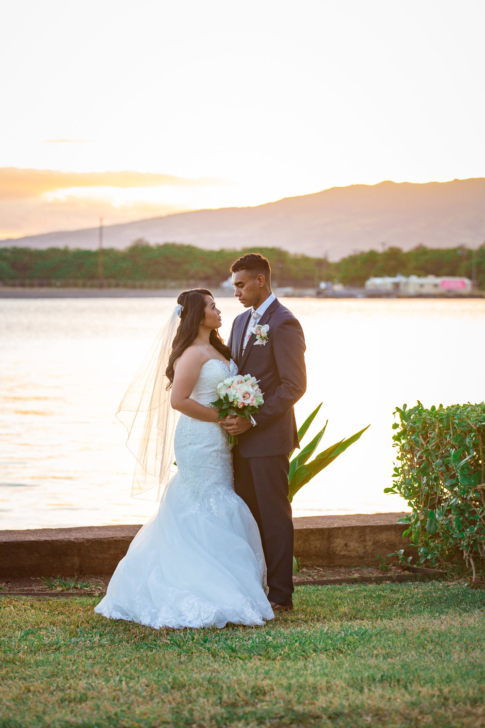 Hickam AFB Wedding