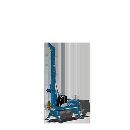 STM 20 - Diesel engine: 119 KWPeso: 20 toneladasTorque máximo: 85 kNm