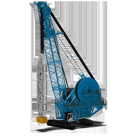 SC-200 c/wP450/P700 - Profundidad de corte: 250 mMotor diesel: 450 kWPeso: 200 toneladas