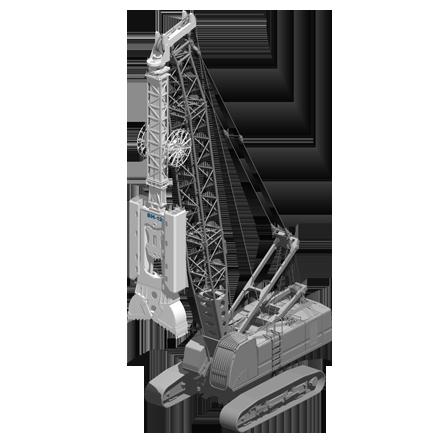 BH 12 - Profundidad máxima: 75 mRelación de excavación: 500/1200 x(ancho/largo): 2000/3500 mmPeso: 12 toneladas