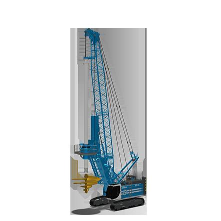 SA 40 - Diámetro máximo:4000mmProfundidad máxima:94 mTorque máximo: 413 kNm