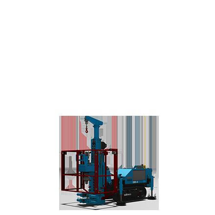 SM 4 - Motor diesel: 115 kWLevantamiento máximo: 70 kNPeso: 5.8 toneladas
