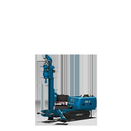 SM 5 - Motor diesel: 75 kWLevantamiento máximo: 40 kNPeso: 5.6 toneladas