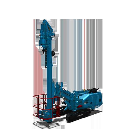 SM 9 - Motor diesel: 105 kWLevantamiento máximo: 60 kNPeso: 9.3-9.5 toneladas