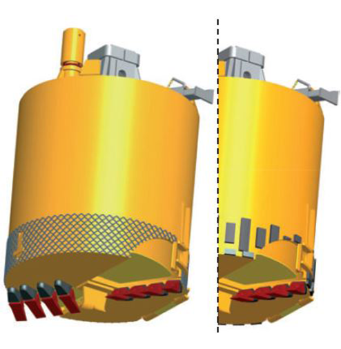 Soil Bucket - Diámetro: Ø600 - 3.000Stub: 130 x 130 mm - 200 x 200 mm