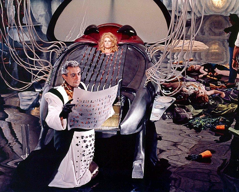 Barbarella, 1968 – Paramount Pictures, Image Source:   IMDB