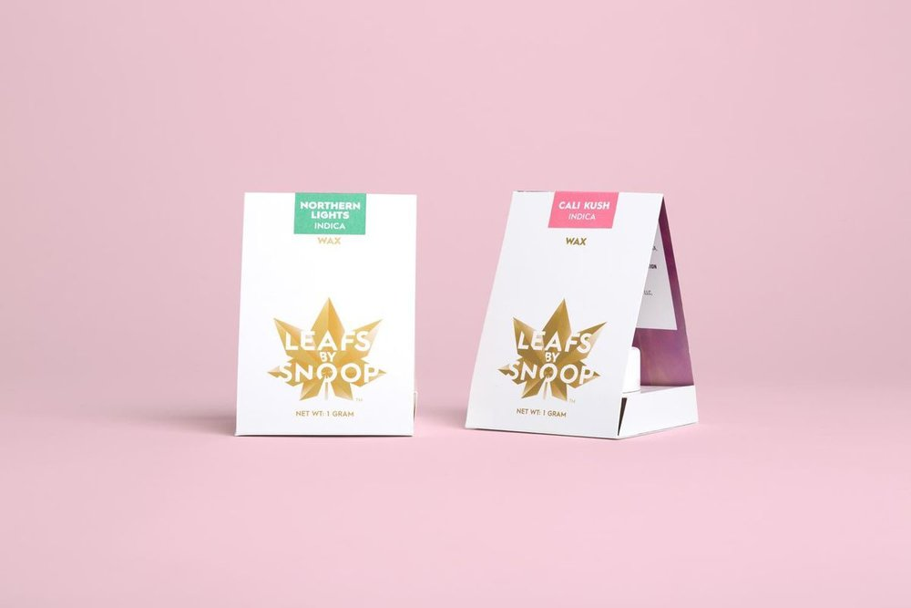 Leafs by Snoop , designed by  Pentagram