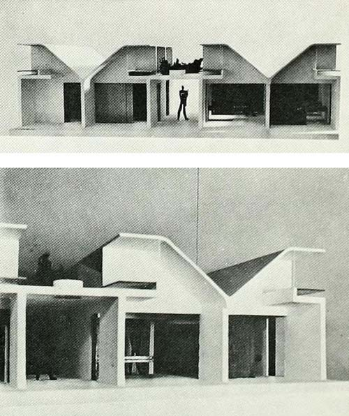 Proposal for the Venice Hospital by Le Corbusier