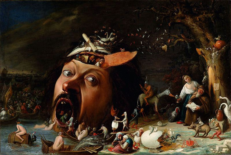 The Temptation of St. Anthony by Joos van Craesbeeck, circa 1650. Image Source:  Wikimedia Commons