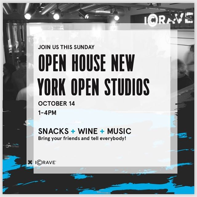 ICRAVE is participating in OHNY's Open Access again! Please join us on Sunday, October 14th from 1-4pm! #interiordesignevent #mingle  #icraveopenhouse