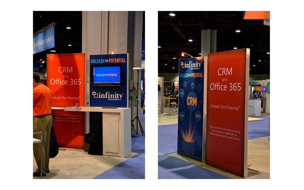 Kiosk and Standing Banner Design