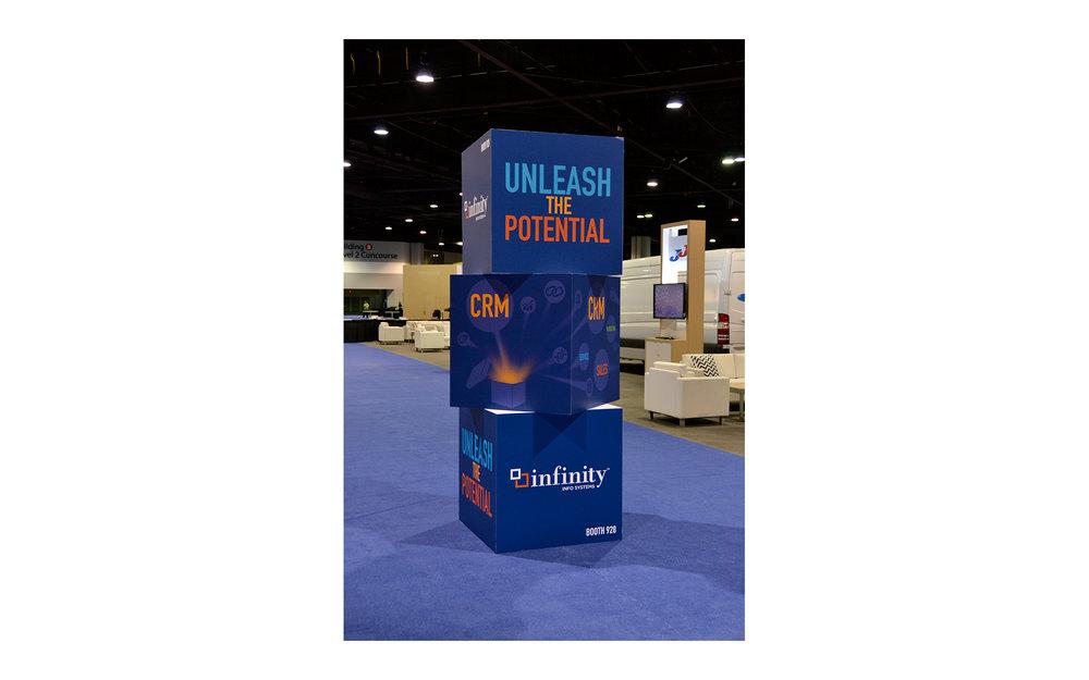 3-D Cubes Design