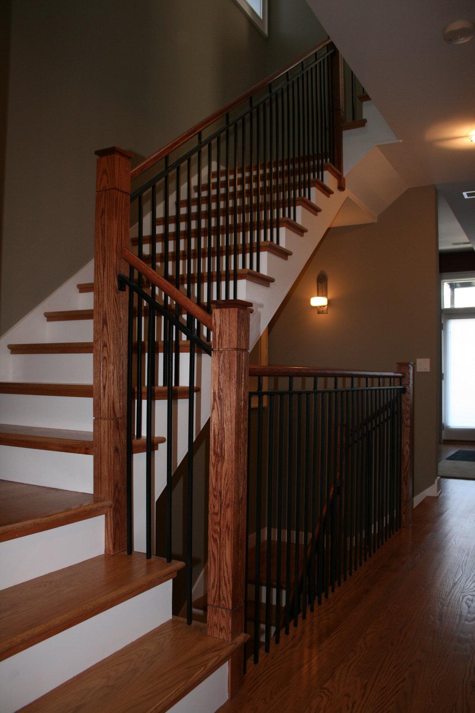 Custom Staircase Railing PO Construction.JPG