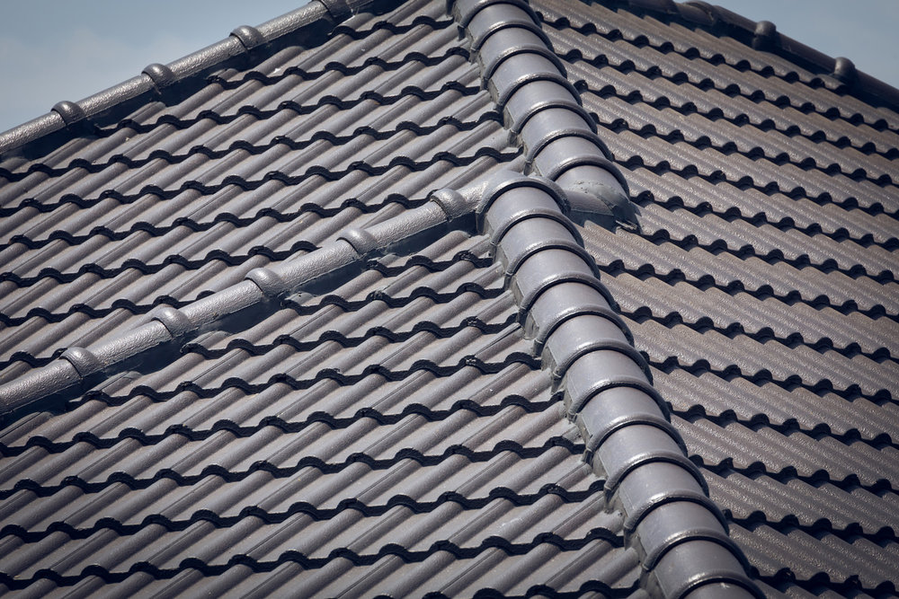 Tile roofs -