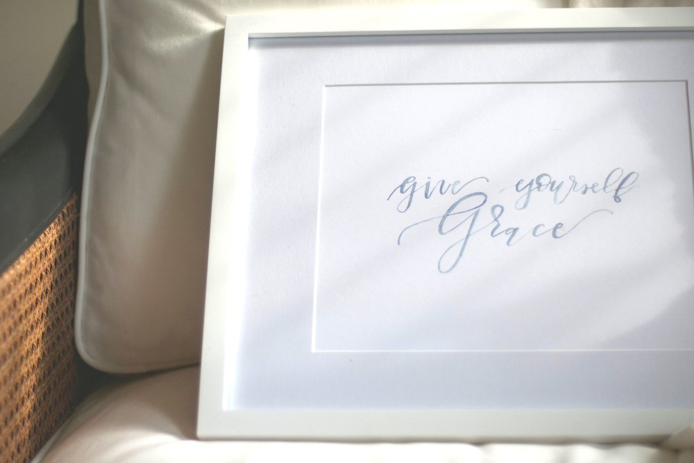 Give Yourself Grace Print | $20