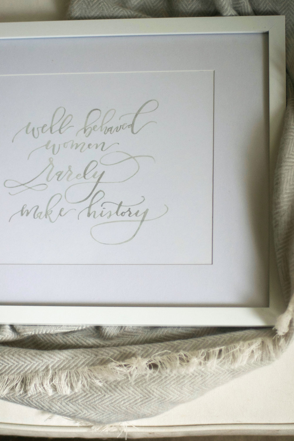 Well Behaved Women Print | $20