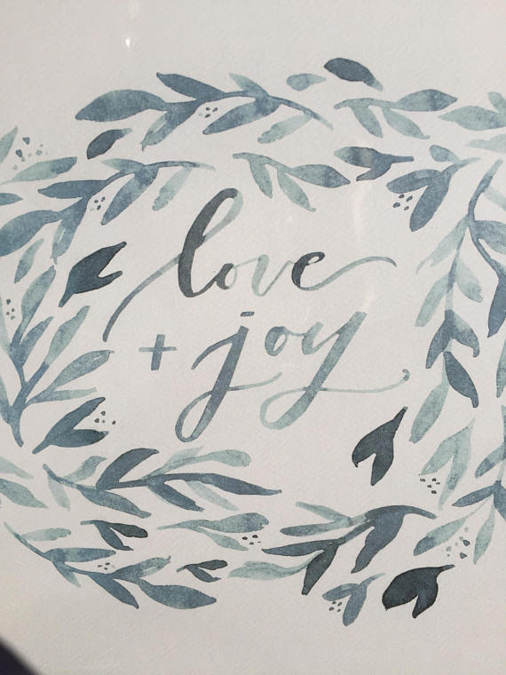 Love + Joy Art Print | $20